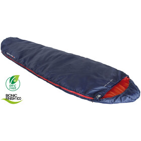 High Peak Lite Pak 1200 Sleeping Bag, blue/orange